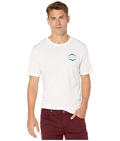 RVCA Astro Hex Short Sleeve T-Shirt (Antique White) Men
