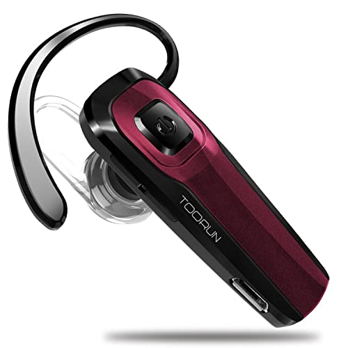 7547b34149d TOORUN M26 Bluetooth Headset with Noise Cancelling Compatible with Smart  Phones LG G7 Samsung Note9 S9