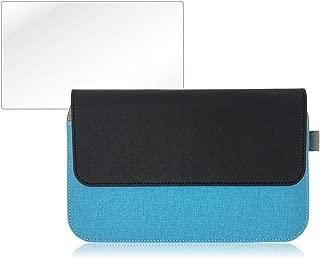 GPD Pocket 2 ケース PUレザー 専用 保護 フィルム 付 (ブルー)