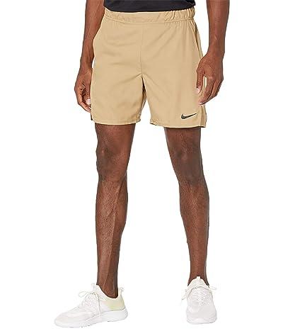 Nike Nike Court Flex Victory Shorts 7 (Parachute Beige/Black) Men