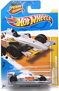 Hot Wheels 2012 2011 Indycar Oval Course Race Pearl White New Models 42