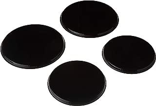 black stove top burner covers