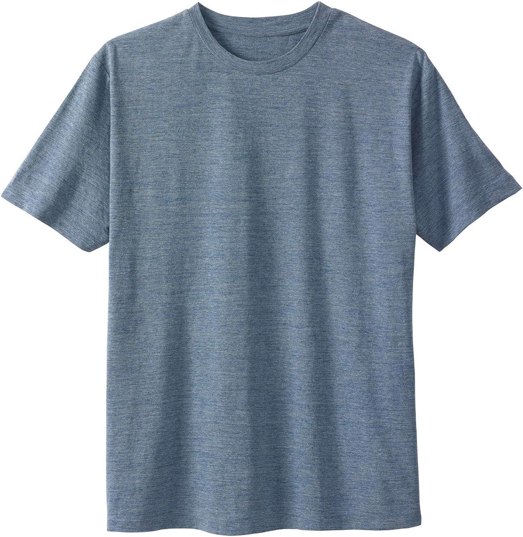 Liberty Blues Men's Big & Tall Short-Sleeve Crewneck T-Shirt