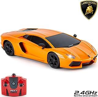 Lamborghini Aventador Officieel gelicentieerde op afstand bestuurde auto met werklampen, radiogestuurde RC-auto op straats...