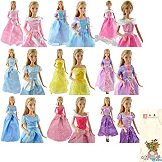 Amazones Princesas Disney Ropa Y Zapatos Muñecas