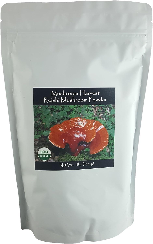 Superior Reishi Max 54% OFF Full Spectrum Mushroom Certi Harvest Powder by