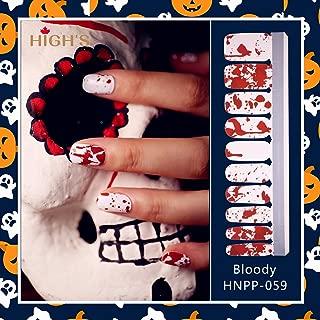 bloody nail polish
