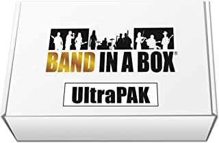 Band-in-a-Box 2019 UltraPAK [Windows USB Hard Drive] - Create your own backing tracks