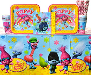 Trolls Poppy Paper Doll Play  Party Favors Teacher Supply styles set bday easter