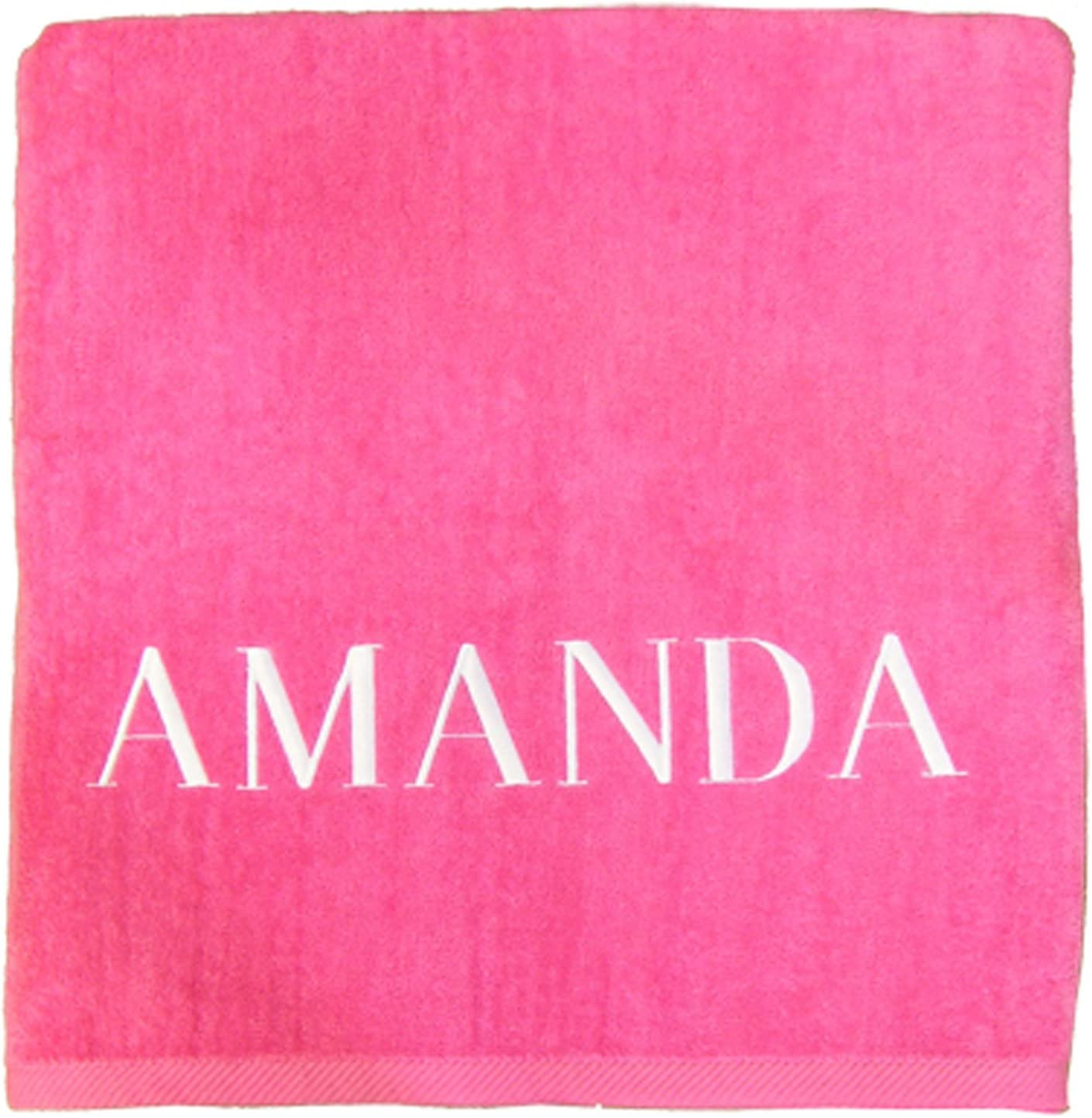 A PLUS Ranking integrated 1st place MARKETING At the price Personalized Pink Towel Beach
