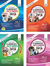 YEARLY Current Affairs Pack of 4 Quarterly Issues (January to December 2018) for Competitive Exams 2nd Edition