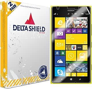 DeltaShield Screen Protector for Nokia Lumia 1520 (2-Pack) BodyArmor Anti-Bubble Military-Grade Clear TPU Film