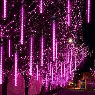 Beyonds Twinkle Meteor Shower Lights, 2 Tubes 72 LED 11.8