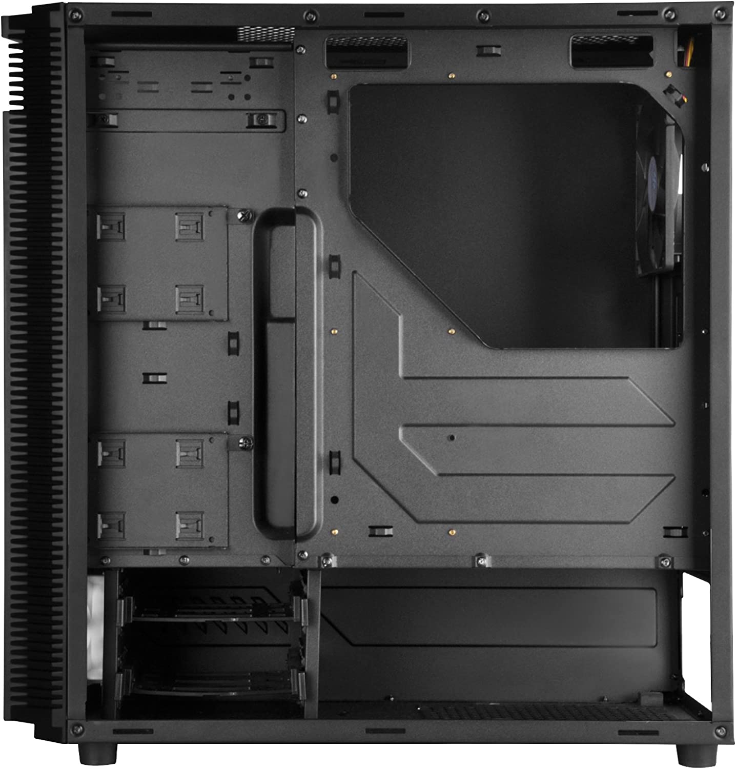 SilverStone Technology PS14B Precision Series ATX Tower Case in Black