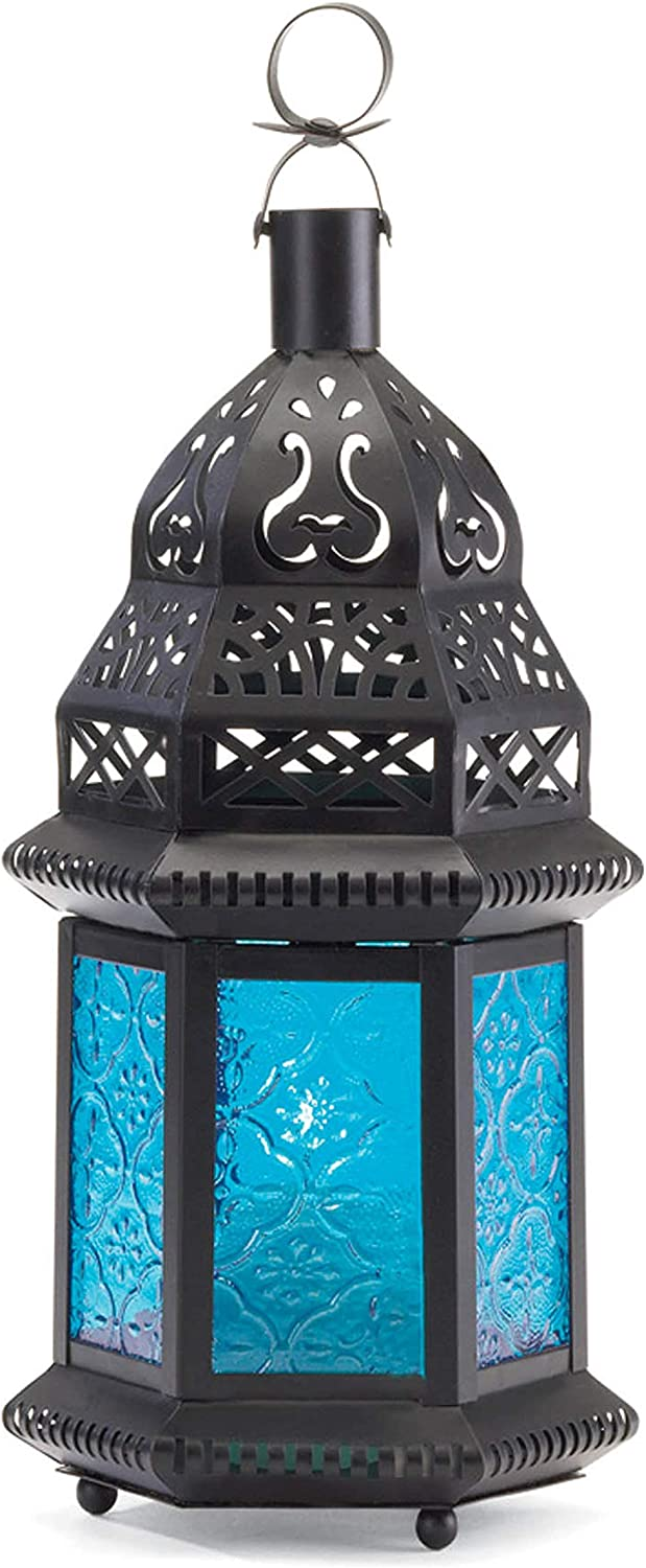 Tom Co. 2 Large Glass Tall Mi Moroccan El Paso Mall Candle Lanterns Holder Ranking TOP8