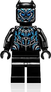 LEGO Marvel Super Heroes Black Panther Minifigure - Black Panther Vibranium Suit (76099)