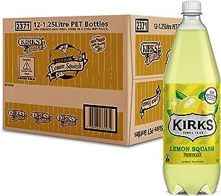 Kirks Lemon Squash 12 x 1.25L