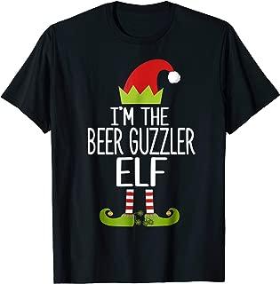 I'm The Beer Guzzler Elf Shirt Christmas Family Elf Costume