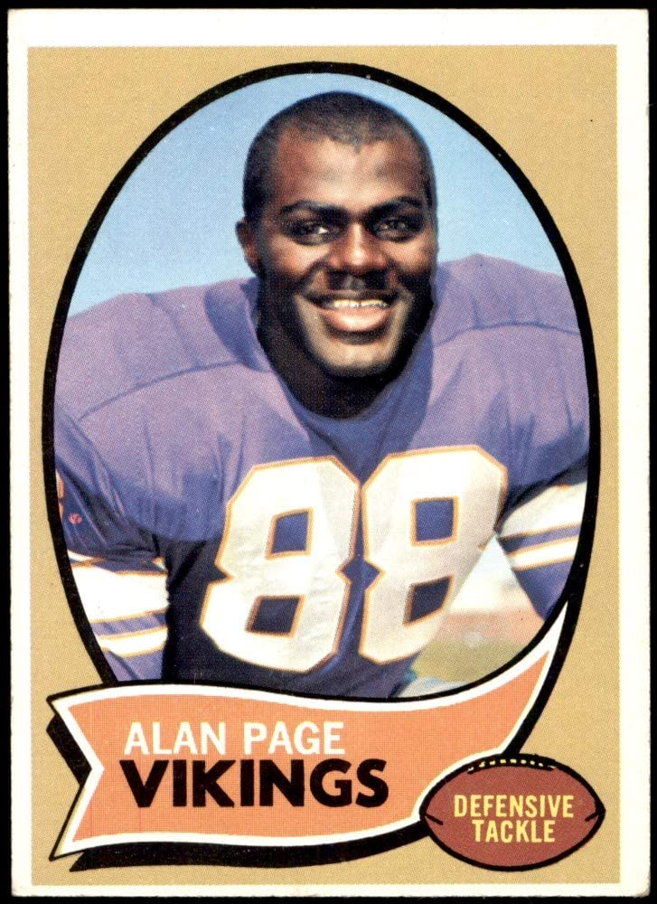New products, world's highest quality popular! 1970 Topps Long-awaited Football 59 Alan Page Excell Vikings Minnesota ROOKIE
