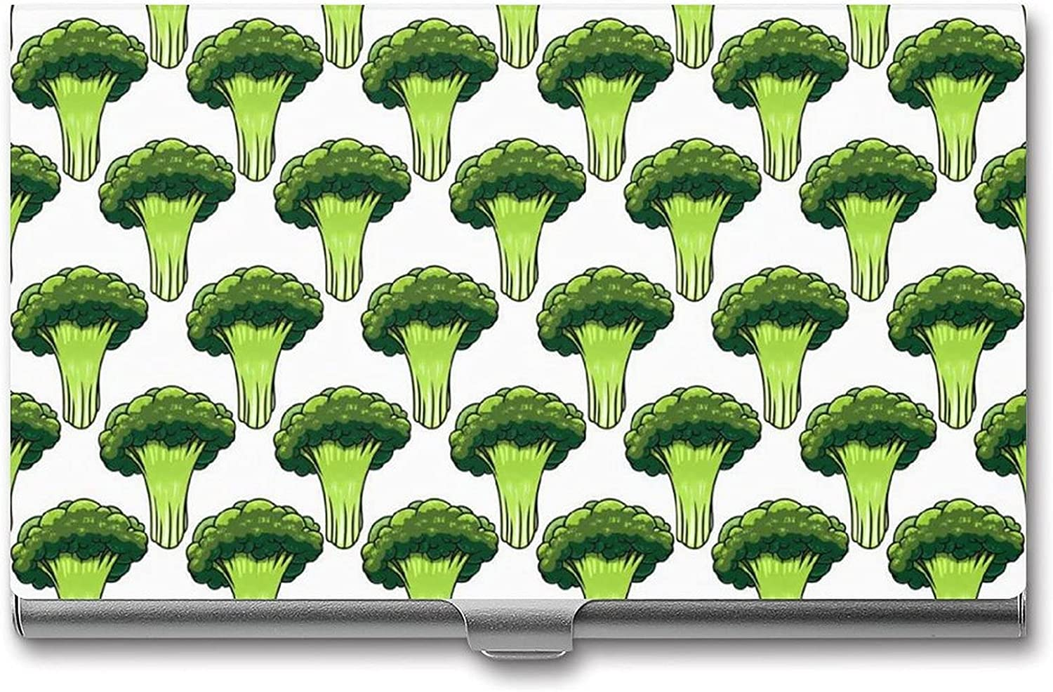2021 spring and summer new Broccoli Pattern Print Business Card Ca ...