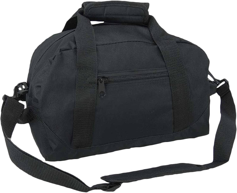 "DALIX 14"" Small Duffle Bag Two Toned Gym Travel Bag"