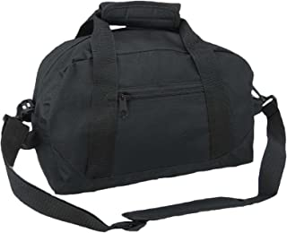 "14"" Small Duffle Bag Two Toned Gym Travel Bag"