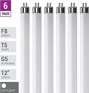 (Pack Of 6) F8T5/D - T5 Fluorescent 6500K Daylight - 8 Watt - 12