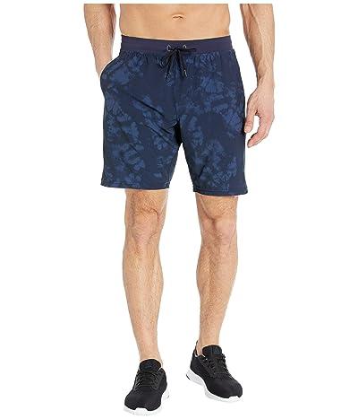 manduka Agility Short (Navy Tie-Dye) Men