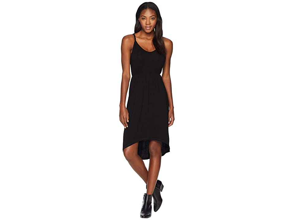 KAVU Ravenna Dress (Jet Black) Women