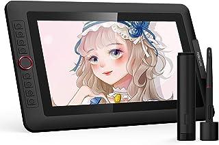 XP-PEN 液タブ 13.3インチ Artist シリーズ 液晶ペンタレット HDディスプレイ 8個ショートカット 充電不要ペン スタンド付き イラスト作成用 デジタル絵 Mac/Windows対応 Artist 13.3Pro