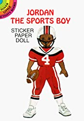 Jordan the Sports Boy Sticker Paper Doll (Dover Little Activity Books Paper Dolls)