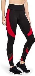 Marque Amazon - AURIQUE Legging de Sport Bicolore