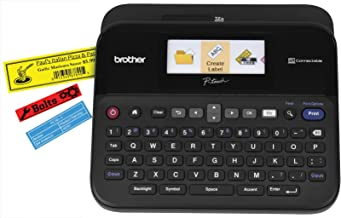 Brother P-touch Label Maker, PC-Connectable Labeler, PTD600, Color Display,..