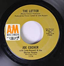 Joe Cocker with Leon Russell & the Shelter People 45 RPM The Letter / Space Captain