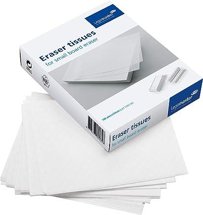 Legamaster 7-120200 清洁纸 用于补充小?#35013;?#25830;除纸 100张 13.7 x 16.5 厘米