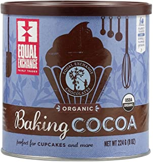 Equal Exchange Baking Cocoa, 8-Ounce Can