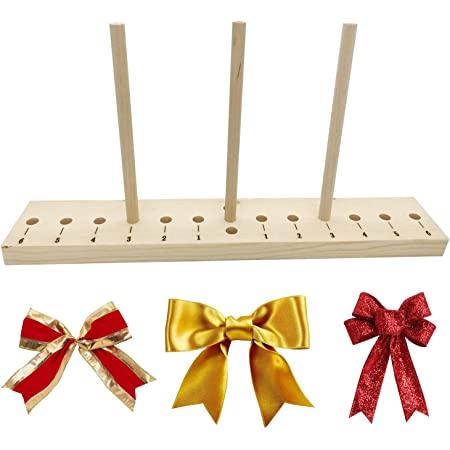 1 Set Wreath Maker Holiday Bow DIY Crafts Bowknot Making Tool for Decoration