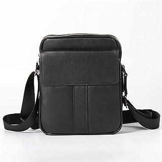Shoulder Bags Men's Messenger Bag Cowhide Business Bag Casual Diagonal Package 3L Black Work Bag Genuine Leather Men's Bag Fashion Leather Bag