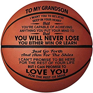 Engraved Basketball Gift, Personalized Outdoor 29.5