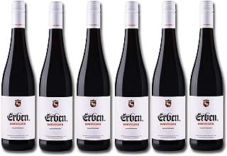 Erben Dornfelder Halbtrocken – Rotwein aus der Pfalz – Qualitätswein – 6 x 0,75 l