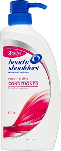 Head & Shoulders Smooth and Silky Anti-Dandruff Conditioner, 620ml