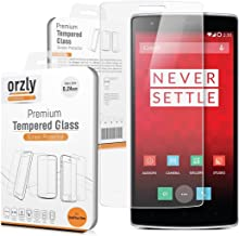 Orzly - OnePlus ONE Premium Tempered Glass 0.24mm Protective Screen Protector for the Original OnePlus One