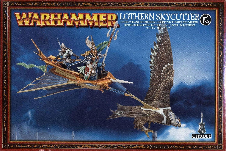Warhammer High Elf Lothern Skycutter (2013, 1 figure)