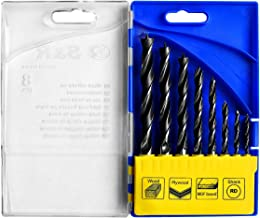 Spiralbohrer Durchmesser 3 mm Kohlenstoffstahl Bohrlochschneider Holzbearbeitungswerkzeug-Set Mobiut Sechskant-Schlangenbohrer 100 mm Holzbohrer-Set Sechskantschaft