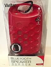 Vivitar Infinite Bluetooth Speaker – Red – Limited Edition