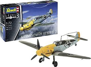 Revell GmbH 03893 Messerschmitt Bf109 F-2 Plastic Model Kit, Grey Camouflage