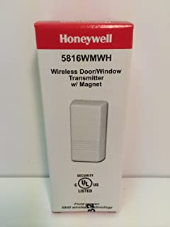 Honeywell Ademco 5816WMWH White Door / Window Transmitter w/ Magnet (2 Pack)