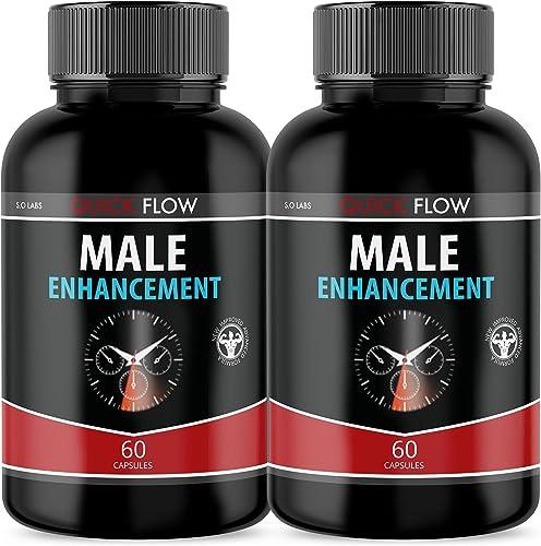 popular (2 wholesale Pack) Quick Flow Male Supplement popular (120 Capsules) online