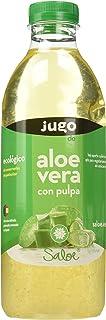 Saloe Jugo Aloe Vera con Pulpa Ecológico - 3 Recipientes de