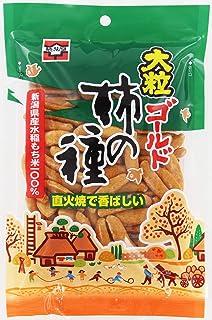 浪花屋 大粒ゴールド柿の種M 80g ×12袋